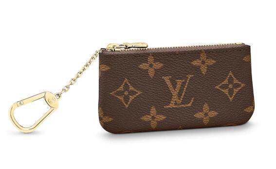 M62650 Porte-clés Nouvelle montre de mode féminine Sacs en cuir exotique Sacs emblématiques Embrayages Soirée Chaîne Portefeuilles Bourse