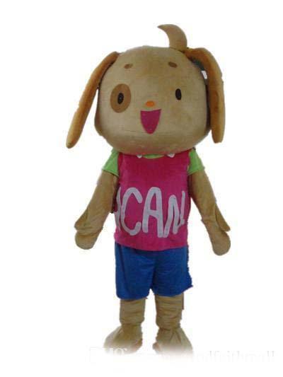 La vendita calda un costume cane mascotte con camicia rosa e blu a breve in vendita
