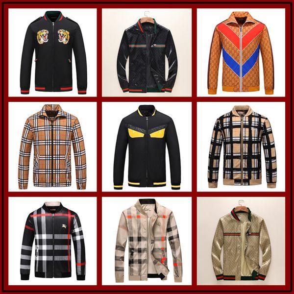 2019 diseñador de lujo para hombre chaqueta de abrigo otoño Windrunner chaquetas diseñador de la marca deportes rompevientos delgada chaqueta casual hombres tops clothing m-3xl