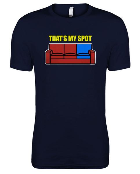 The Big Bang Theory - Sheldon Cooper - das ist das T-Shirt meiner Spot-Frauen Lustiges freies Verschiffen Unisex-zufälliges T-Shirt