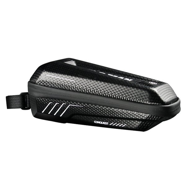 Mountain Bike Front Tube Frame Bag Large Capacity Hard Shell Rainproof Case Cycling Bicycle Repairing Accessories