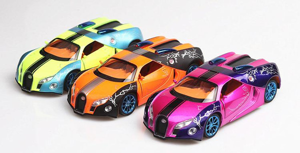 Weilong super sports car model sound and light pull back car boy toy car foreign explosions factory wholesale