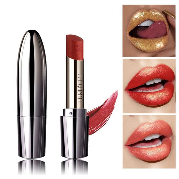 LUWHICEY Beauty Matte Sexy Red Lipstick Makeup For Women Waterproof Long Lasting Matte Lipstick Nude Lip Make Up Cosmetics