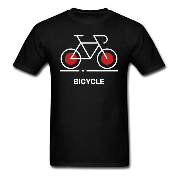 Bicycle Cycling Bikes Cyclist Retro Bike motif Tee T Shirt Print Cool Men Women O Neck Short Sleeve Casual Cotton Letters Shirts