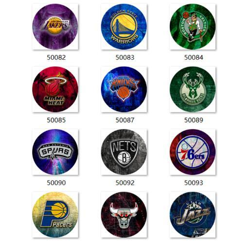 Free shipping basketball Snap button Jewelry Charm Basketball glass snap button photo print Phone Holder GS9898 jewelry making DIY