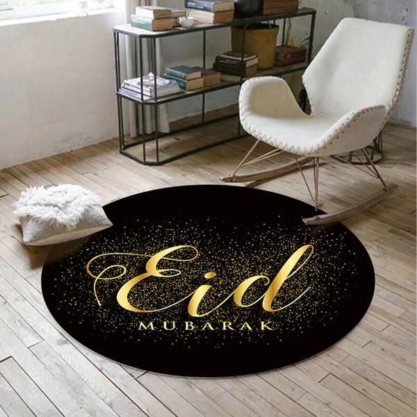 Muslimische Eid Teppich 3D gedruckt Anti-Rutsch-Bodenmatte Teppiche Home Decor moderne Küche Boden Teppich