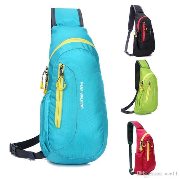 Waterproof Sport Bag Camping Hiking Running Outdoor Diagonal Package Chest Sport Bags Backpack New bolsa mochilas deportivas