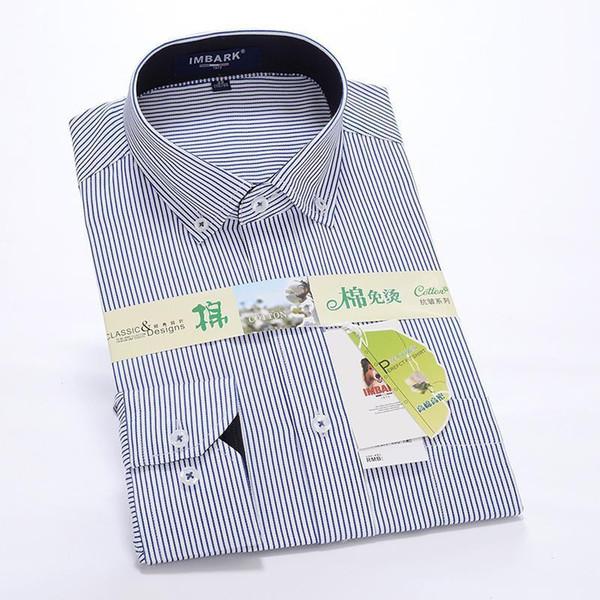 Pop Vogue Male Spring Autumn Obese Super Large Hihg Quality Formal Long-sleeve Shirt Plus Size M -6XL 6XL 8XL 8XL