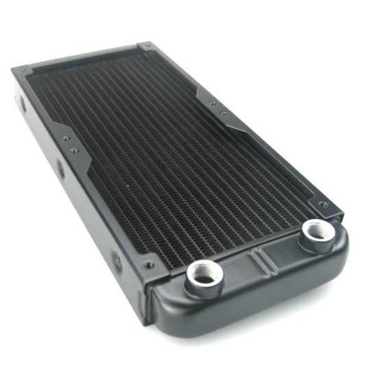Radiador de refrigeración por agua de aluminio de 240 mm, P / N: WC-RA240-AL