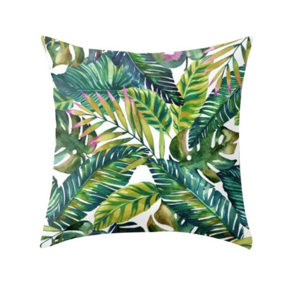 Cojines Sofa Online.Hsu High Quality Cushion Tropical Plant Polyester Pillow Sofa Throwing Pad Set Home Decoration Cojines Decorativos Para Sofa Buy Cushions Online