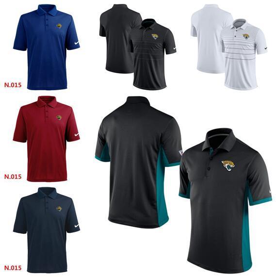 Nuovo stile di modo estate Jacksonville Jaguars Uomini inizio stagione TeamIssue Performance Polo T-shirt