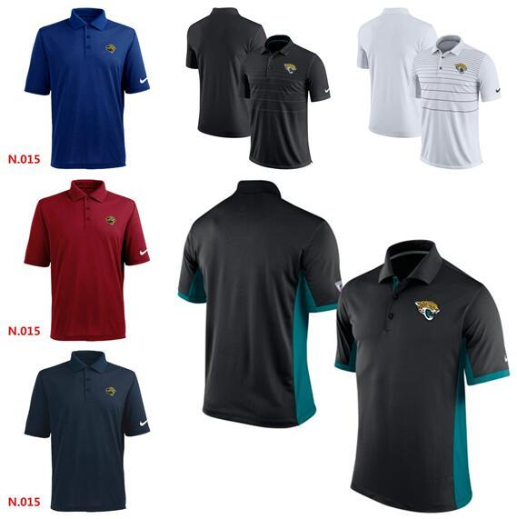Новый стиль Мода лето Джексонвилле Мужчины Ягуары Ранний сезон TeamIssue Performance Polo футболка