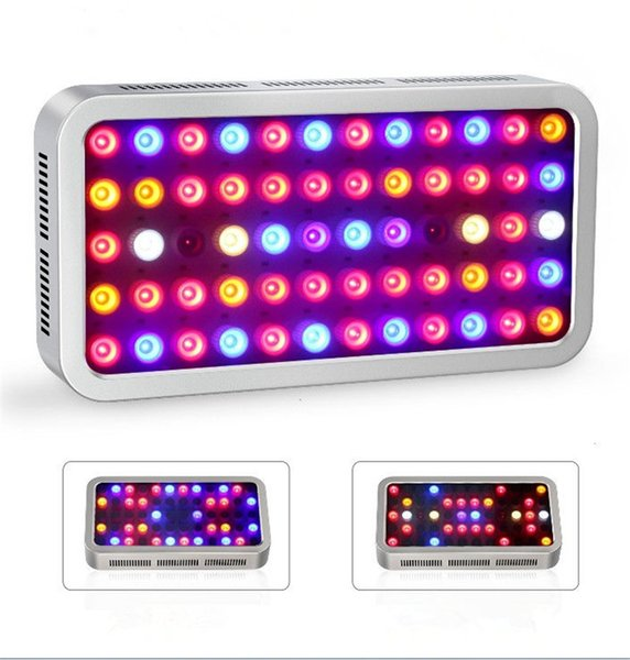 Full Spectrum 12 Bands 300W LED Grow Light VEG BLOOM Switch Dual Channel Dimmable Indoor Plant Medical Hemp Grow Light with Lens
