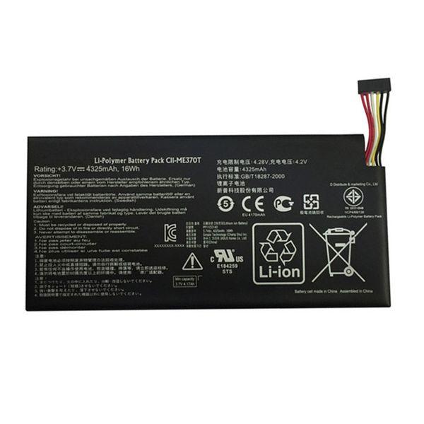 3.7V 16wh 4325mAh Original C11-ME370T Laptop Battery For ASUS Google nexus7 nexus 7 1 Generation C11 ME370T