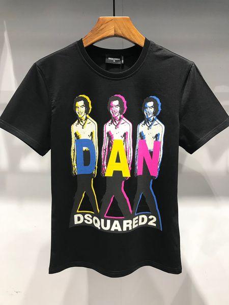 6046 2019ss Roma Paris Men designer T-shirt de marque de vêtements de mode été décontracté femmes T-shirt de haute qualité Hip Hop Top Tees