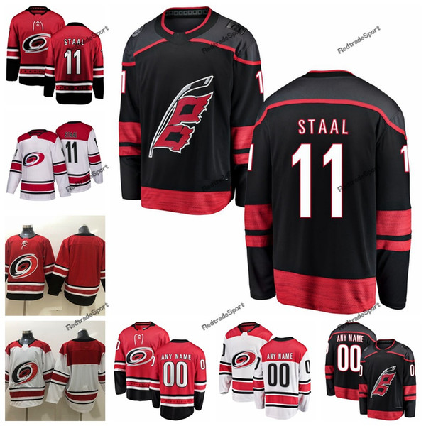 check out 5d6c8 1ad04 2019 2019 Mens Carolina Hurricanes 11 Staal Hockey Jerseys Cheap New Black  J.Staal Stitched Jerseys Customize Name Number From Redtradesport, $38.58 |  ...