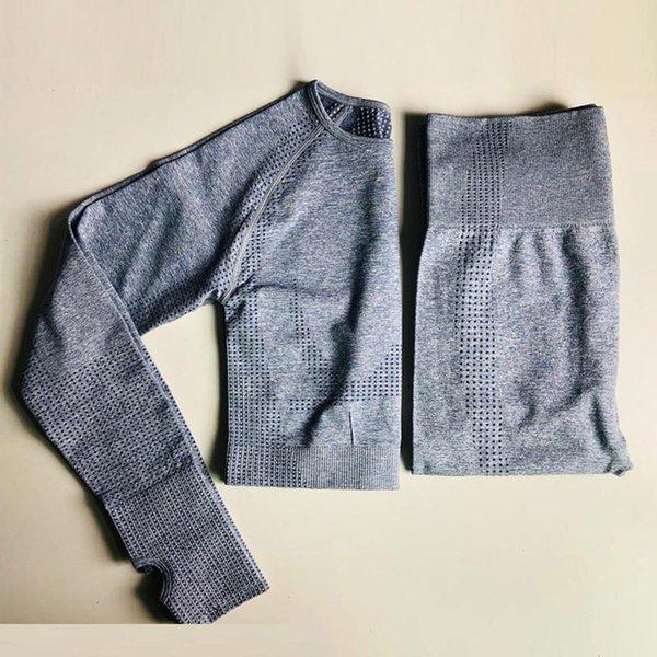 Blue gray 2Pcs Set