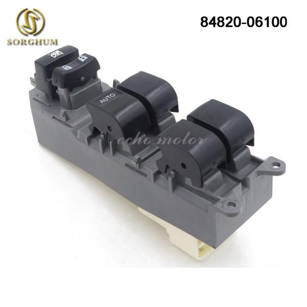 Novo 84820-06100 Botão de Interruptor Da Janela Esquerda Do Poder Mestre Para Toyota RAV4 Camry Corolla Auris Urbano Cruiser 84820-06130 84820-02190