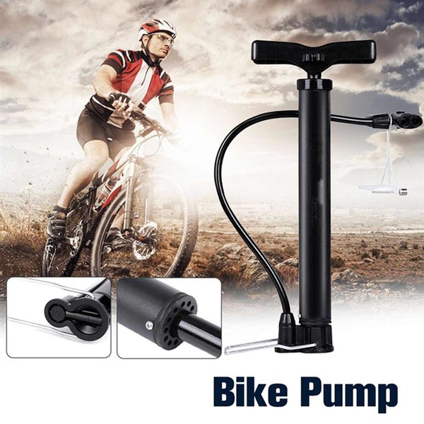 Portable Bicycle Pump Mini Hand Pump Cycling Air Ball Toy Tire Inflator MTB Mountain Bike 120PSI #644710