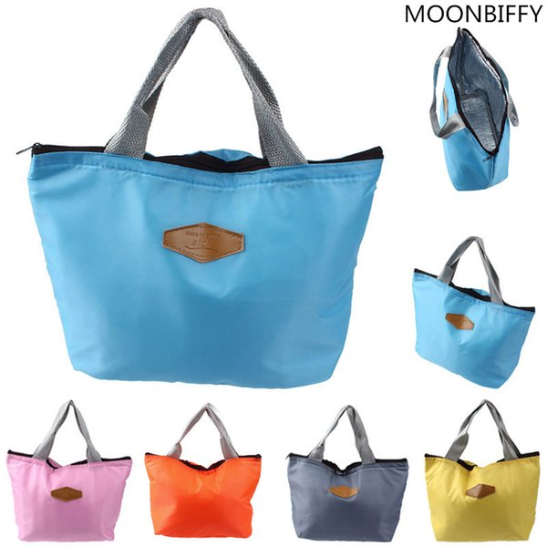 Lunch Bag 2017 New Fashion Kid Women Men Thermal Insulation Waterproof Portable Picnic Insulated Food Storage Box Tote Lunch Bag C19041601