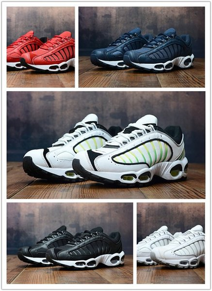 New Air Tailwind IV Weiß / China Rose-Aurora Green Herren Laufschuhe AQ2567-103 atmen neue Colurway-Sneakers mit Boxgröße 40-4
