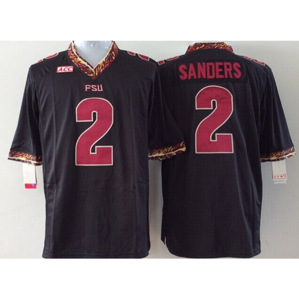best sneakers 33c43 90f7e 2018 Mens Florida State Seminoles Deion Sanders Stitched Name&Number  American College Football Jersey Size S 3XL From Ylz002, $21.82 | DHgate.Com