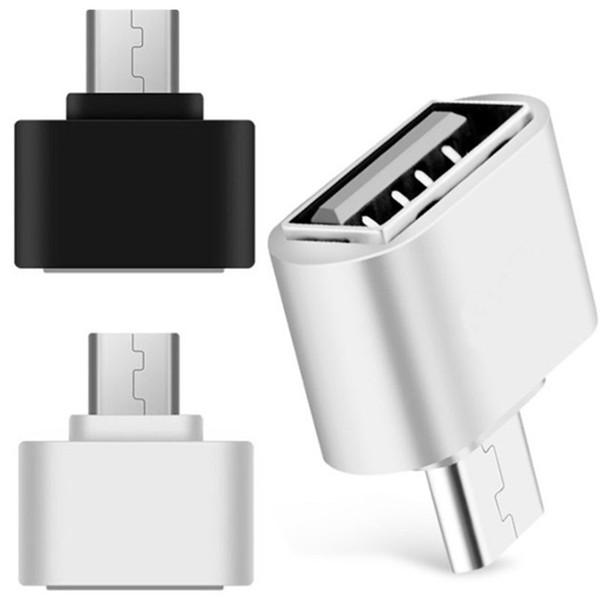 Mikro USB USB OTG Adaptörü Erkek Kadın Akıllı telefon için, cep telefonu USB Flash Fare Klavye Bağlayın