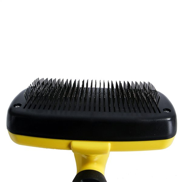 2019 Tasera Pet Dog Cat Hair Brushself Cleaning Slicker Brush Gently Removes Loose Undercoat Mats And Tangled Hairprofessional Pet Grooming From