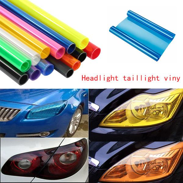 30cmx60cm High Quality Car Tinting Car-styling Auto Car Tint Headlight Taillight Fog Light Vinyl Smoke Film 13 Colour