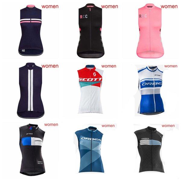 ORBEA RAPHA SCOTT Team maßgeschneiderte Radsport ärmellose Trikot Weste Sommer Frauen leichte weiche Outdoor-Sportbekleidung S52006