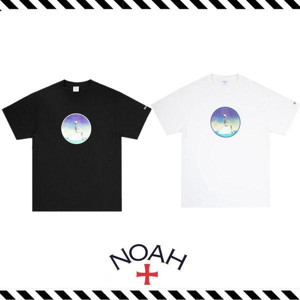 2019 New NOAH 19SS NYC TRAGEDY der Gemeinen TEE Armband Logo LOGO Eisberg Kurzarm T-Shirt S-XL