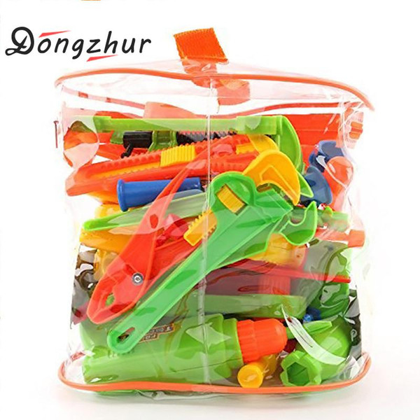34 Pcs Repair Tools Set Boy Kid Toys Craftsman Pretend Play Fixing Skill Puzzle Toy Christmas Gift Simulation Repair Tools