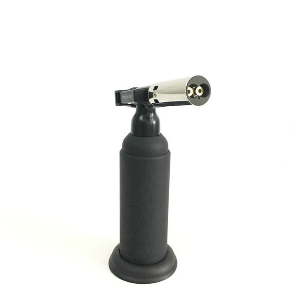Butane Scorch Torch Double Flame torches Chef Cooking Refillable Professional Blow Torch for Creme Brulee Adjustable Flame Torch 1300/2500C