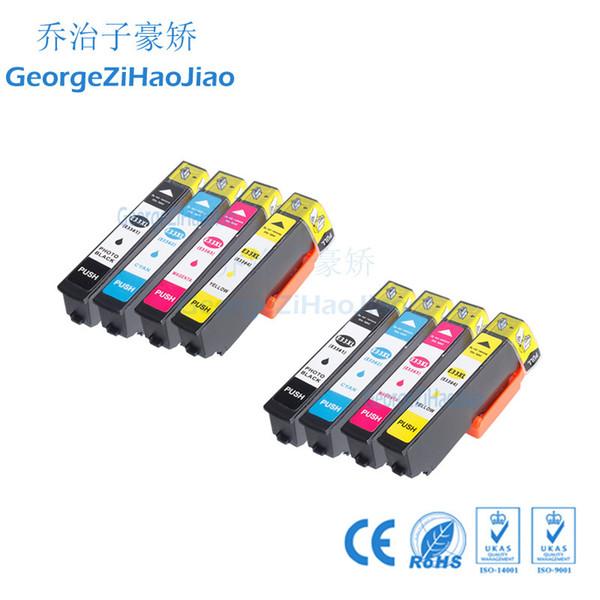 8PCS PBCMY 33XL T3351 Cartucho de T3361 Compatível com Epson XP-630 XP-630 XP-630 XP-630 XP-640