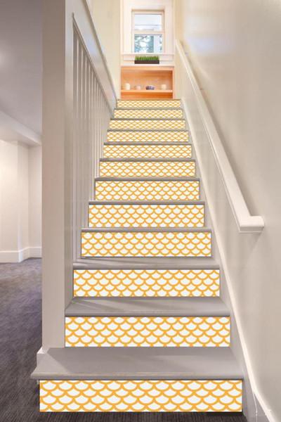 Сжатый Главная Мебель Лестницы Субсидии Шаги Цвет Paste Личность Первый Pad Оклейка Оригинальность стены стикеры