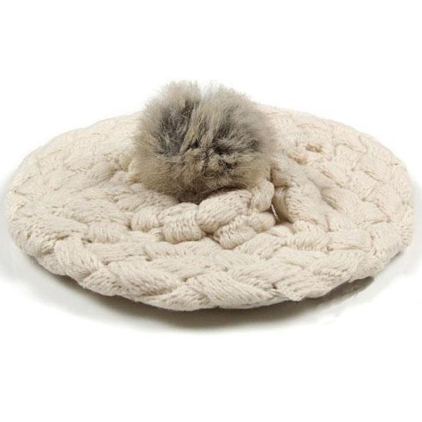 Baby Hat Multicolor Kids Girls Handmade Crochet Knitting Beret Cap Cute Winter Keep Warm Beanie Newborn Hat For Girl A
