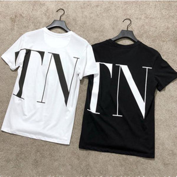Designer Womens T Shirt Brief gedruckt Kurzarm T-Shirt für Sommer schwarz weiß atmungsaktiv Marke T-Shirts Größe S-XL