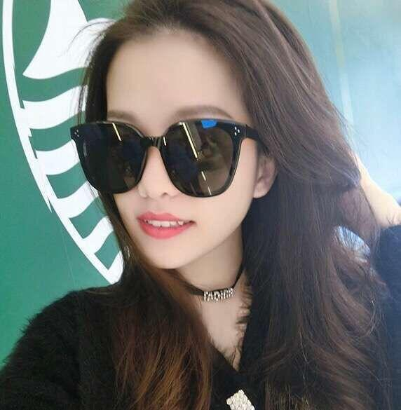 Sonnenbrillen für Männer und Frauen Sonnenbrillen Netzwerk Prominente die gleiche 2019 trendige Persönlichkeit V Marke WeChat Mode