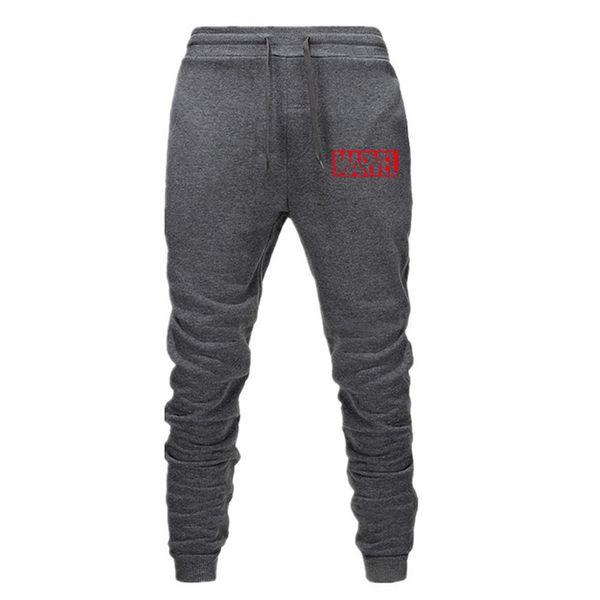 Yeni MARVEL Erkekler Joggers Marka Erkek Pantolon Rahat Pantolon Sweatpants Erkekler Spor Kas Spor Egzersiz hip hop Elastik Pantolon P4