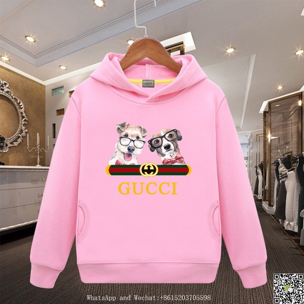 Awesome Hoodies Cotton Sweater Cattle Cargo Girl Pure Colors Spring Clothes Boys Baby Clothing
