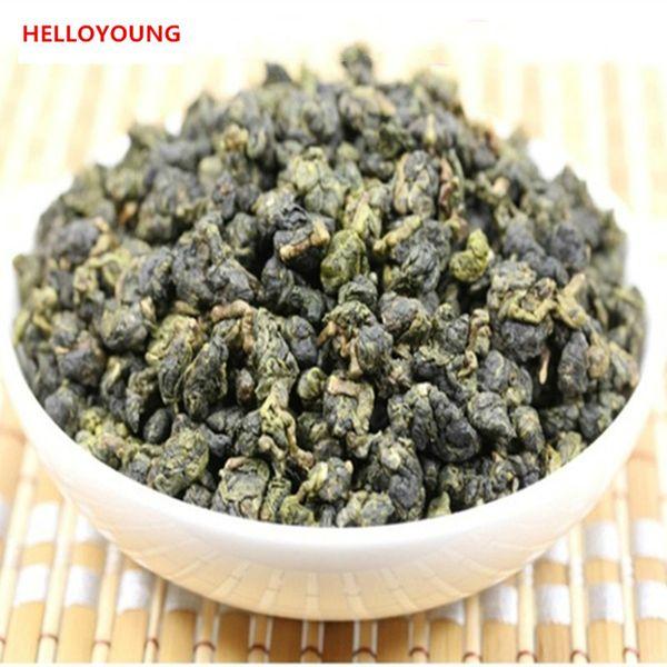 500g Chinese Organic Oolong Tea 4 Vacuum Packages Milk Oolong Green Tea New Spring Tea Green Food Cream Flavor Preferred