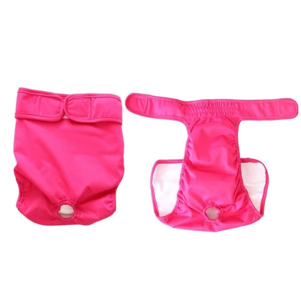 Dog Physiological Pants S M L Diaper Sanitary Washable Female Dog Shorts Panties Menstruation Underwear Briefs Jumpsuit For Dog