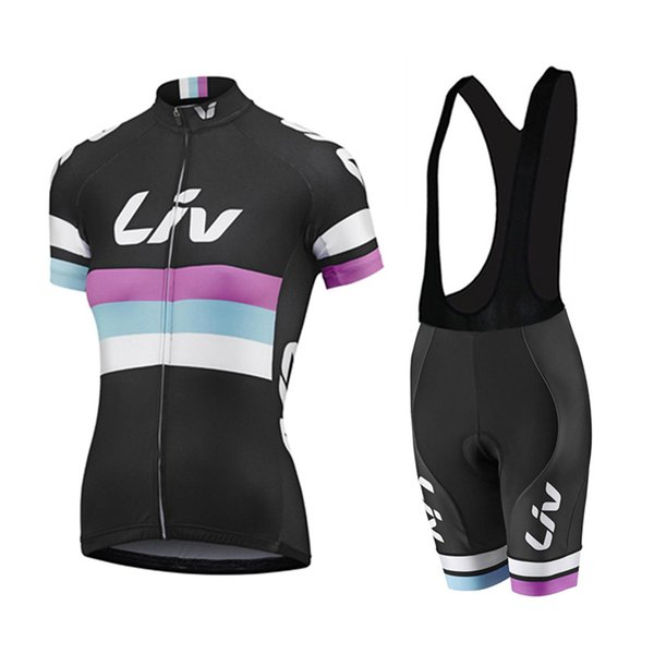 2019 Liv Cycling Maglie stile estivo per le donne a maniche corte Bike Wear Mtb Ropa Ciclsimo Quick Dry biciclette abbigliamento