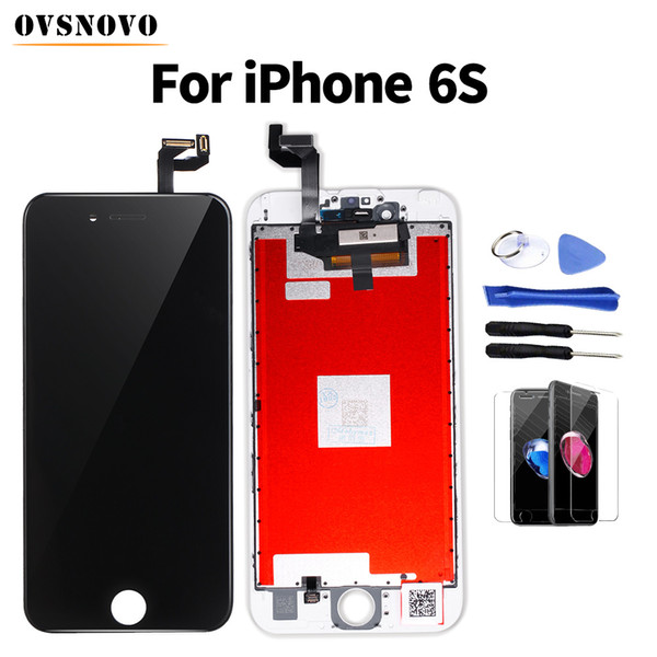 Pantalla Screen Replacement For iPhone 6 6s LCD Display Touch Screen Digitizer Assembly with Tempered Glass&Tools No Dead Pixel