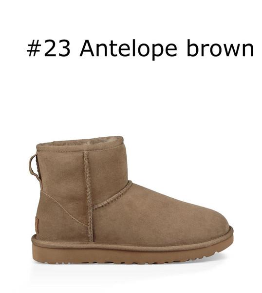 Antilop kahverengi klasik mini