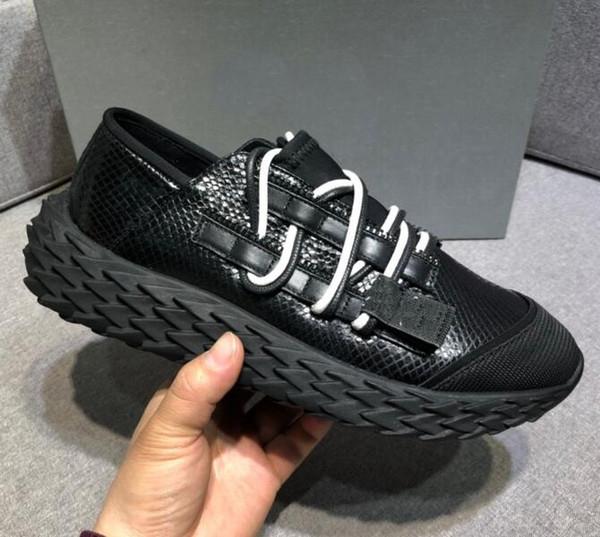 Diseñador de moda zapatos casuales para hombre mujer vestido de erizo snesakers de alta calidad suela italiana zapatos casuales italia 35-46 rt12