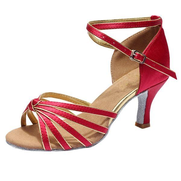 tan baratas buscar oficial buscar original Compre Zapatos Moderno, De Tacón Alto, En Interiores, En Satén, Para  Mujeres, Niñas Y Damas, Zapatos Modernos De Tangosalsa. A $28.53 Del Deal1  | ...