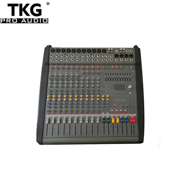 Power mate1000 PM1000-3 Audio professionale professionale Mixer Mixer console Effetti sonori Potenza phantom 48 Volt 1000 watt * 2 amplificatore di potenza
