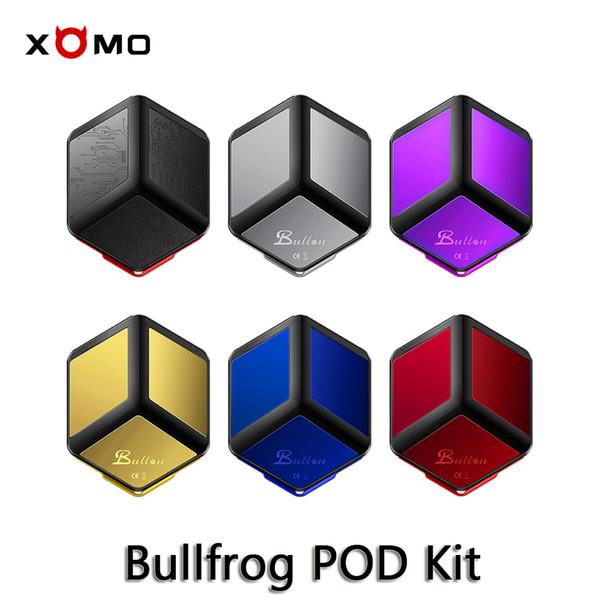 XOMO Bullfrog Pod Vape Kiti Altıgen Şekilli Dış Cep Boyutu Dahili 380mAh Pil ile Manyetik kartuş Pod E-Sigara Vaping Kitleri