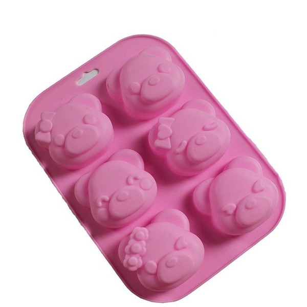 23.6*16.4*3.8CM DIY Hand Soap Maker Silicone Biscuit Cake Chocolate Mould Kitchen Baking Moulds 20 Pieces DHL